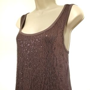Maurice's Large Lavender Sequin Tank
